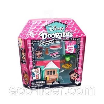 Игровой набор DISNEY DOORABLES - ЛИЛО И СТИЧ (2 героя, домик, аксессуар)