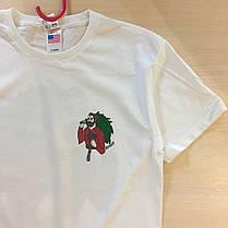 Топовая футболка RipNDip | Бирки Фотки реальные | Мужская белая, фото 2