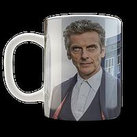 Кружка GeekLand белая  Доктор Кто  Doctor Who  Доктор Кто Двенадцатый Доктор DW.02.068