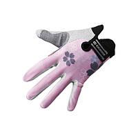 Перчатки женские EXUSTAR CG530-PK розовые L