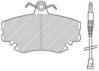 Тормозные колодки передние  PEUGEOT, Рено, Дачия (пр-во FERODO FDB845)