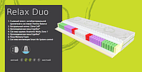Матрас ортопедический EVOLUTION Relax Duo (MultiPoket/Memory Foam/Латекс) высота 21см ЕММ Релакс Дуо Эволюшн