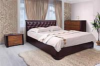 Кровать Ассоль ромбы с подъемным механизмом (венге 160х200 см)