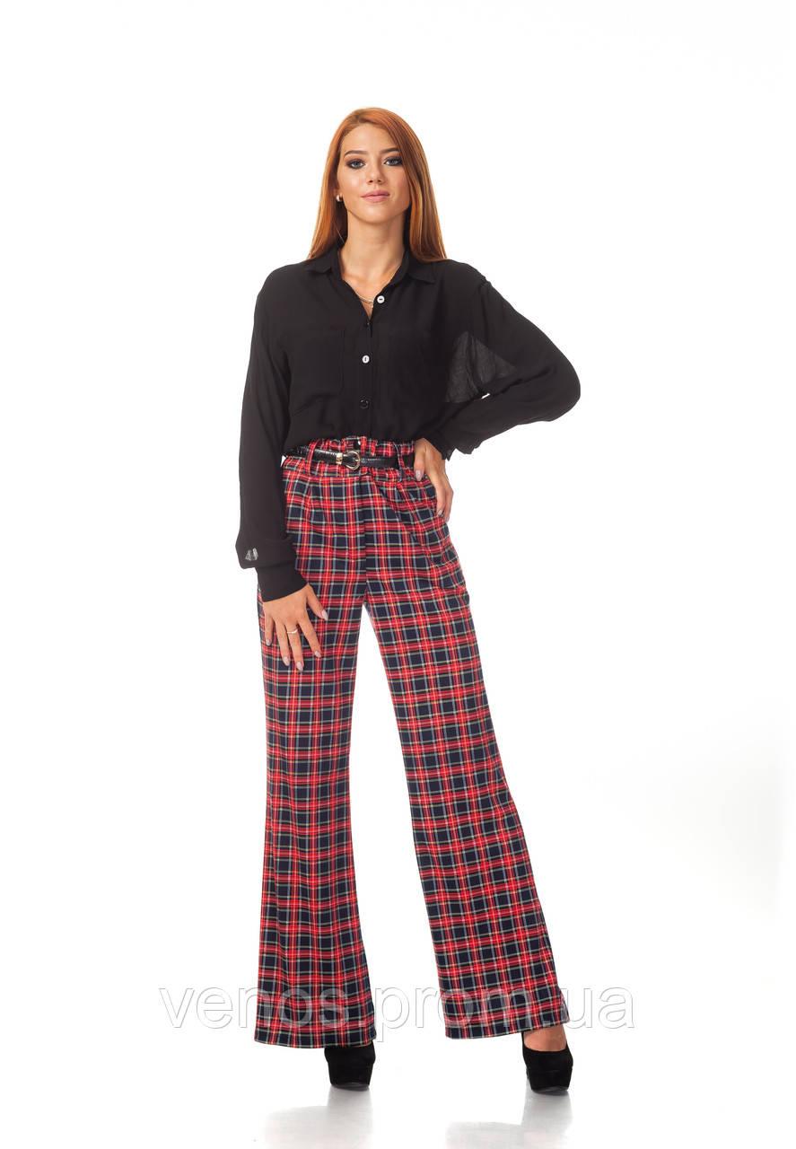 Классические женские брюки с завышенной талией. БР022