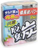 Желеобразный дезодорант для холодильника Dashshuutan с древесным углем и лимонной кислотой 2шт по 55 г(113453)