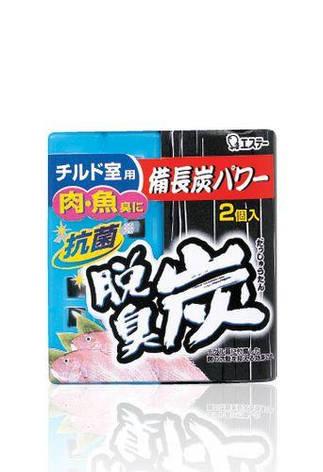 Желеобразный дезодорант для холодильника Dashshuutan с древесным углем и лимонной кислотой 2шт по 55 г(113453), фото 2