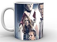 Кружка GeekLand белая  Доктор Кто  Doctor Who Доктор кто ночные кошмары DW.02.030