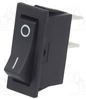 Клавишный выключатель 1 полюс, 10 А, 250 В