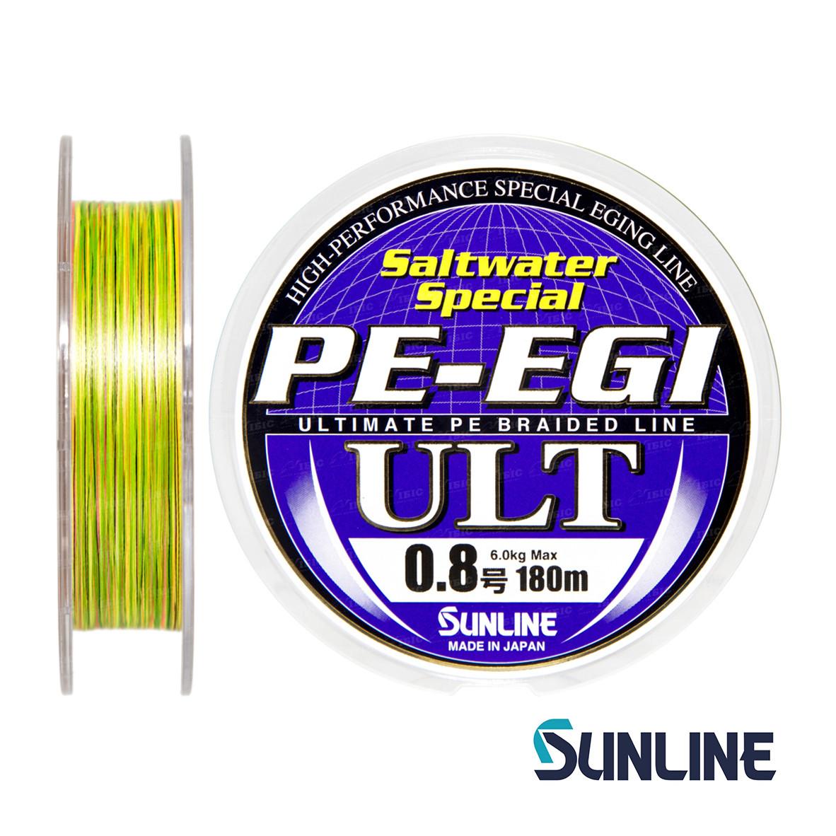 Шнур Sunline PE-EGI ULT 180m #0.3/0.09мм 2.5кг
