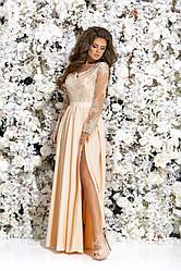 Платье в пол в расцветках Эксклюзив 377219