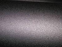 Пленка виниловая с микроканалами, черная матовая
