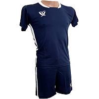 Детская футбольная форма Swift Prioritet темно сине-белая