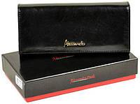 Великолепный кожаный кошелек ALESSANDRO PAOLI Хороший подарок для любимой женщины Доступная цена Код: КГ6352