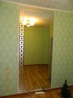 Зеркало большого размера на стену