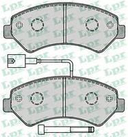 Тормозные колодки передние JUMPER 2.2 3.0 06-,FIAT DUCATO 06-,PEUGEOT BOXER 06-(пр-во LPR 05P1288)
