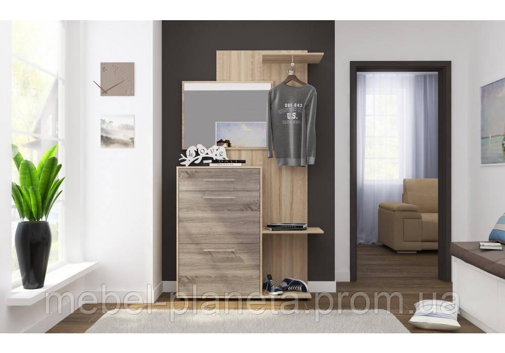 """Прихожая в коридор, прихожая с тумбой для обуви """"Katrin (Кетрин)"""" Luxe Studio"""