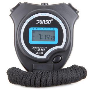 Секундомер JUNSD JS-306 (пластик, цвет черный)