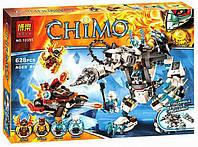Конструктор Bela 10355 Chima Чима Ледяной робот Айсбайта 628 деталей, фото 1