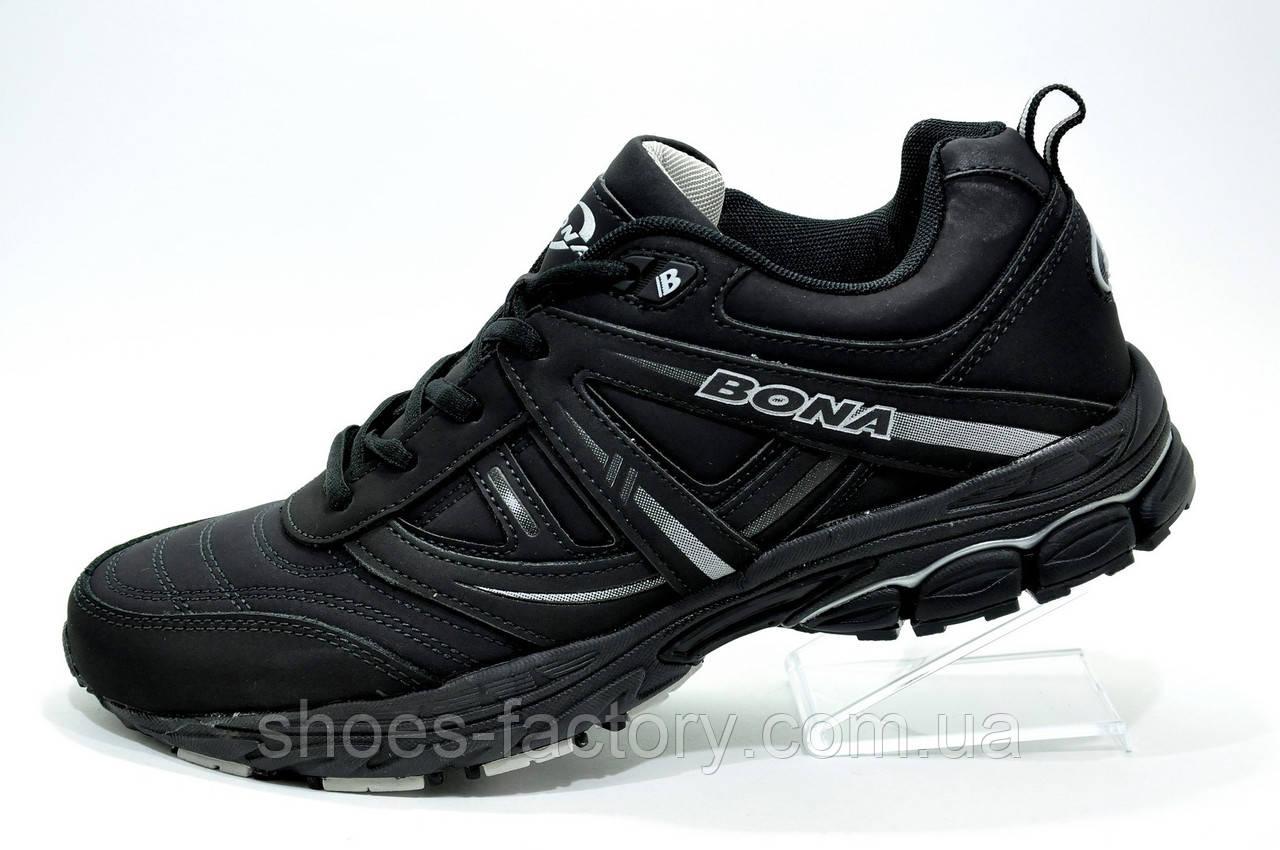 Мужские кроссовки Bona, Black (Бона)