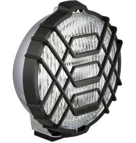 Противотуманная  фара Wesem Ø 183 мм с габаритом галогенная белая с решеткой хромированная HO2.15060