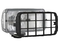 Противотуманная  фара  Wesem 182х86х81 мм хромированная с решеткой HP4.18279