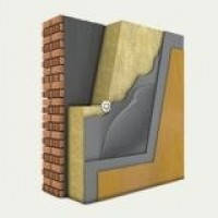 Утепление фасада минеральной (базальтовой) ватой, пенопластом