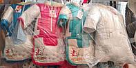"Зимний костюм тройка ""Снеговик"" для мальчика (конверт, куртка, комбинезон) Оптом"