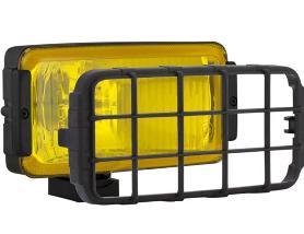 Комплект фар дальнего света  Wesem 180х86х82 мм   желтых с решеткой  HP2.11147