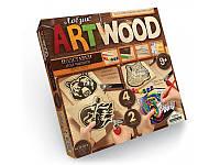 "Детский набор для творчества Комплект креативного творчества ""ARTWOOD"" подставки под чашки 5930, фото 1"