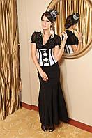 Женский классический корсет, под грудь, атлас, разные размеры и цвета., фото 1