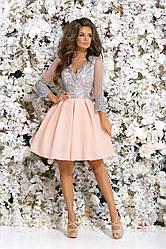 Платье Матильда узор  в расцветках 377248.1