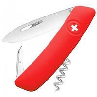 Нож складной, мультитул Swiza D01 (95мм, 6 функций), красный KNI.0010.1000