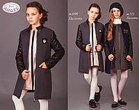 Кашемировое пальто для девочки ТМ Baby Angel