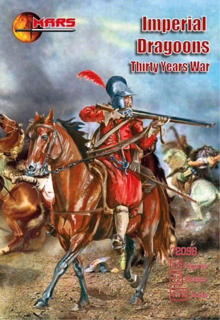 Императорские драгуны (Тридцатилетняя война). 1/72 MARS 72096