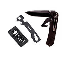 Нож раскладной 112мм (рукоятка композит G10) Sigma (4375721)