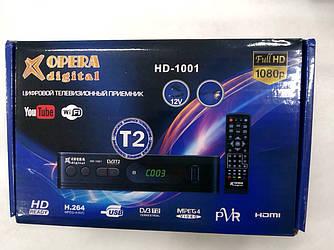 Цифровой тюнер Т2 -  Opera HD 1001