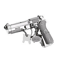 3D пазл металлический пистолет Беретта
