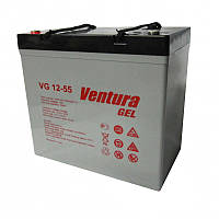 Гелевая аккумуляторная батарея Ventura VG 12-55 GEL, емкость 55Ач