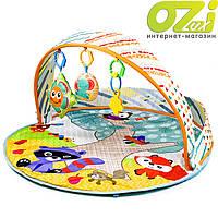 Развивающий коврик-манеж с цветными шариками 023-41