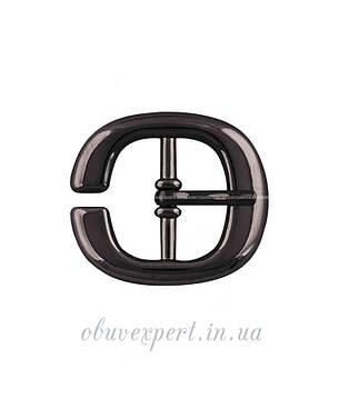 Пряжка  20 мм Черный никель, фото 2