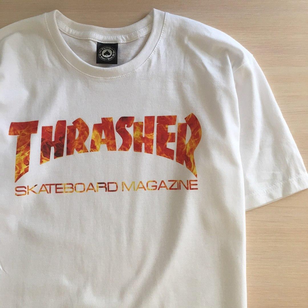 Топовая Футболка Thrasher | Бирка | Все размеры