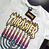 Thrasher Flame футболка • Бирки трешер • Реальные фотки • Огненный принт