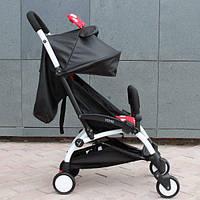 Обновленная Yoya 175A+ ЭКОКОЖА. Детская прогулочная коляска + удлинитель для ножек!!!