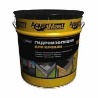 Мастика кровельная и гидроизоляционная битумно-резиновая холодная AquaMast 18 кг