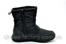 Дутики женские в стиле Nike, Black, фото 2