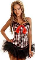 Корсет женский утягивающий моделирующий, красивый женский клубный корсет, фото 1