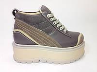 Женские кожаные зимние ботинки Распродажа!!, фото 1