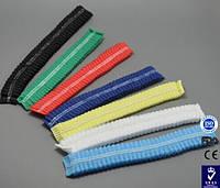Цветная одноразовая шапочка для салонов, 100 шт