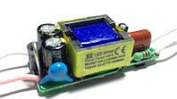 Драйвер 600мА, 6-10 светодиодов 3W