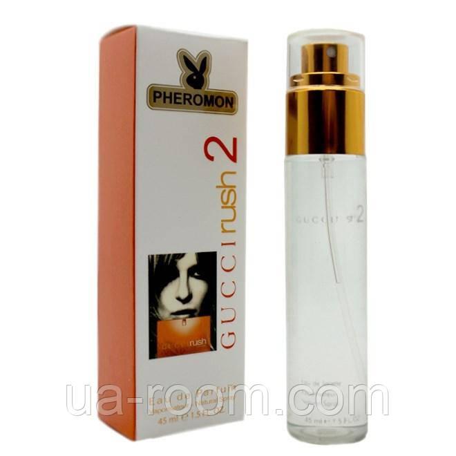 Женский  мини-парфюм с феромоном Gucci Rush 2, 45 мл.